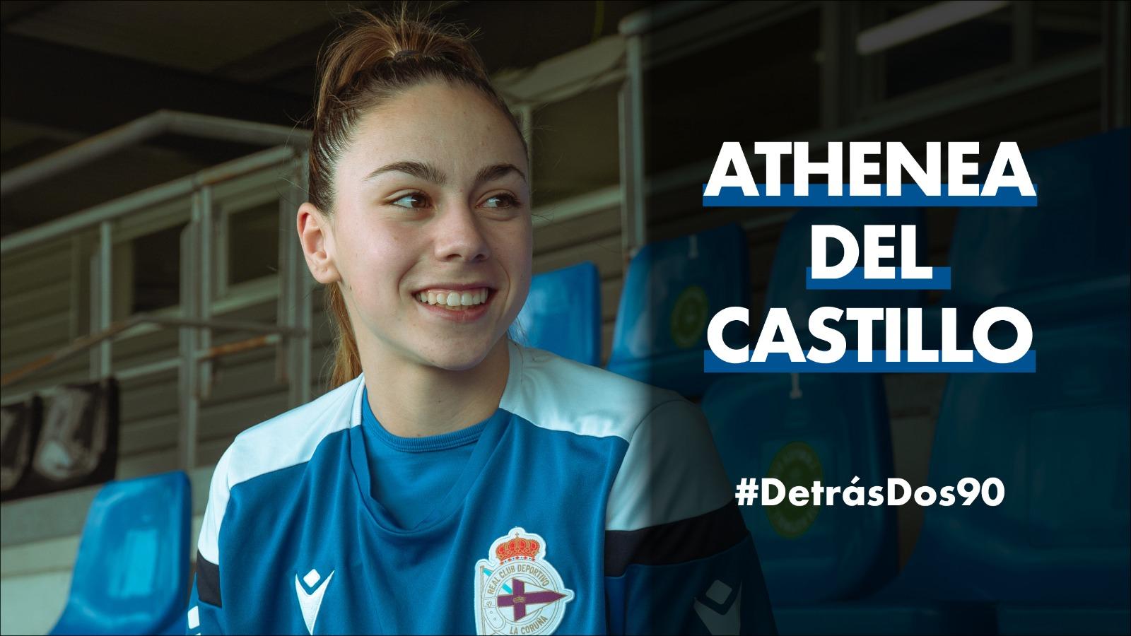 """""""O Deportivo inclúe todo: o masculino e feminino. Notamos ese apoio"""""""